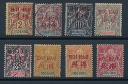 N-78: HOI-HAO: Lot    Avec N°2*-3-5-6-9-10*-11*-12* - Hoï-Hao (1900-1922)