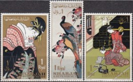 Sharjah 1967, Paintings (MNH, **) - Impressionisme