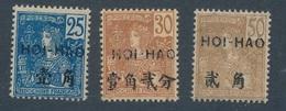 N-80: HOI-HAO:  Lot  Avec N°39*-40*-43* - Hoï-Hao (1900-1922)