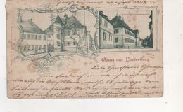 CPA..GRUSS AUS LAUTERBURG.CARTE DANS L ETAT.SALE - Lauterbourg