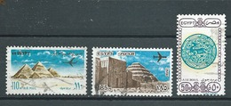 EGYPTE  Yvert  PA  N° 142-167-200  Oblitérés - Poste Aérienne