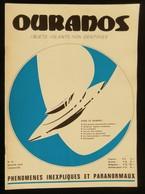 ( UFOLOGIE Soucoupes Volantes OVNI ) Revue OURANOS Numéro 14 1975 - Esotérisme