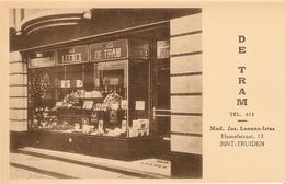 Sint-Truiden / St. Trond : Huis Leenen -- Bureel De Tram . Hamelstraat (winkel Papierhandel ) - Sint-Truiden