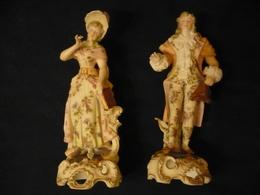 Figuren-Paar - Galant Ca. Von 1900 (670) - Ceramics & Pottery