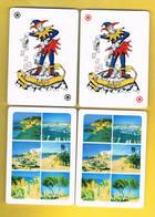 (042) - 2 Cart Joker, Algarve, PORTUGAL - (voir Scaner) - Cartes à Jouer Classiques