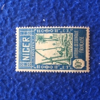 Stamp :Niger:  Scott # 34, Drawing Water From Well; Mint LH, 1926 - Stamps