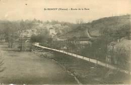 Dép 86 - St Benoit - Saint Benoit - Route De La Gare - état - Saint Benoit