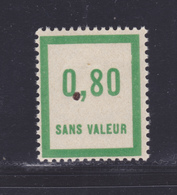 FRANCE FICTIF N°  F48 ** MNH, Timbre Neuf Sans Charnière, Tâche Dans Le Papier - B/TB - Phantomausgaben
