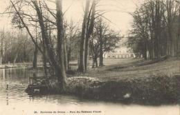 30447. Postal DREUX (Eure Et Loire). Parc Du Chateau D'ANET - Dreux