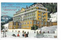 ADELBODEN - (suisse)  The NEVADA PALACE HOTEL - L 1 - BE Berne