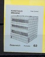 2012  Austria  Mi. MH 2980 **MNH  Kunsthauis Bregenz   Peter Zumthor - 1945-.... 2ème République