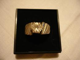 Silberring Mit Zirkon (673) - Ringe