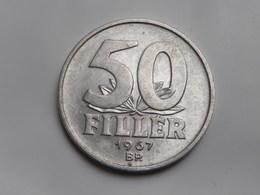 Hongrie 50 Filler 1967       Km# Aluminium  SUP - Hungary