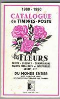Catalogue Des Timbres Poste Fleurs, Fruits, Légumes, Champignons, Plantes Céréalières, Arbres ... - Topics