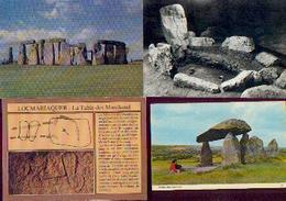 Mégalithe – Lot De 4 CV - Histoire