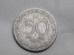 Hongrie 50 Filler 1948      Km#536  Aluminium  TB   Plus Rare - Hongrie