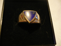 Silberring Mit Lapslazuli (675) - Lapis-lazuli