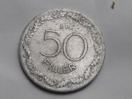 Hongrie 50 Filler 1953    Km#551  Aluminium  TB+ - Hungary