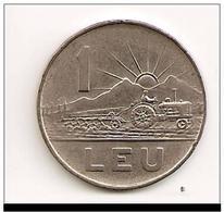ROUMANIE - 1 LEU 1963 - Roumanie