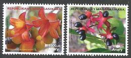 Madagascar 2015 Endemic Flowering Plants Hildegardia Ankarensis Campylospermum Obtusifolium MNH Mint - Madagaskar (1960-...)