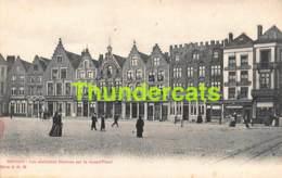 CPA BRUGGE CPA BRUGGE BRUGES ALBERT SUGG SERIE 11 N 10 LES ANCIENNES MAISONS SUR LA GRAND PLACE - Brugge
