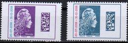 FRANCE, 2018, MNH, MARIANNE DEFINITIVES, 2v - Stamps