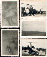 Meeting D'aviation De BEAUVECHAIN (22/06/1966) – Lot De 11 Photos Inédites + Tickets D'entrée Et De Parking - Aviation