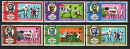 TOGO - 1969 - 50° ANNIVERSARIO DELLA CROCE ROSSA - USATI - Togo (1960-...)