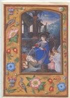 Naissance Du Christ - Livre D'heures De L'Empereur Ferdinant 1er - Flandres 1530 Env (bibl Vienne) Cp Vierge Double - Arts