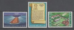 SERIE NEUVE DE GRECE - JEUX OLYMPIQUES DE MEXICO N° Y&T 967 A 969 - Sommer 1968: Mexico