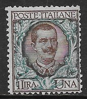 Italia Italy 1901 Regno Floreale L1 Sa N.77 Nuovo SG - Nuovi