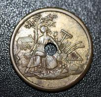 """Jeton Monnaie De Necessité """" L'Indépendante Lille - Pain"""" 59 Nord - French Token - Monetary / Of Necessity"""