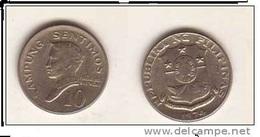 PHILIPPINES 10 SENTIMOS 1974 - Philippines