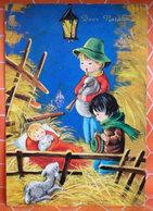 Auguri Buon Natale  Bambini Zampognaro  Cartolina - Natale