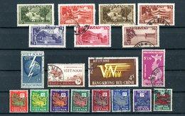 Vietnam-Empire , Lot Timbres 1951/1955 Neufs** Et Oblitérés - Vietnam