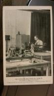 Une Installation Pour L'étude Des Rayons X - Laboratoire De Maurice De Broglie - Tampon Larousse - Health