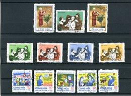 République Du Sud-Vietnam (GPR) , Lot Timbres 1974/1975 Oblitérés - Viêt-Nam