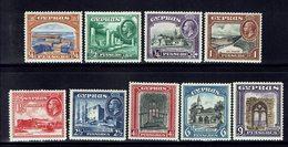 CHYPRE - 1934 - N° 116 à 124 - Neufs - X - Traces De Charnières - B/TB - - Cyprus (...-1960)