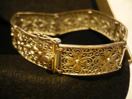 Filigranes Silber-Armband (681) - Bracciali