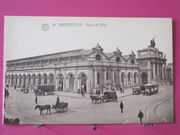 Belgique - Bruxelles - Gare Du Midi - CPA Excellent état - Recto-verso - Cercanías, Ferrocarril