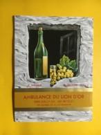 9003 - Ambulance Du Lion D'Or Cully Suisse F Weber Vigneron - Etiketten