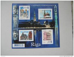 F4938  * *     NO YT 4938/4941   CAPITALES EUROPEENNES  .RIGA  LETTONIE - Blocs & Feuillets