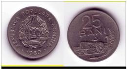 ROUMANIE - 25 BANI 1960 - Roumanie