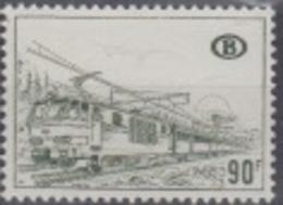 BELGIUM MNH COB TR 424 P1 LOCOMOTIVE ELECTRIQUE - Chemins De Fer