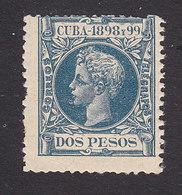 Cuba, Scott #175, Mint Hinged, King Alfonso XIII, Issued 1898 - Cuba (1874-1898)