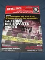 Détective 2003 1071 TINTENIAC Lieu Dit La Cocherais La Ferme Des Enfants Morts - Livres, BD, Revues