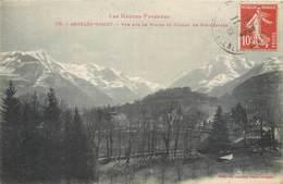 CPA 65 Les Hautes Pyrénées - 178 - Argeles Gazost Vu Sur Le Viscos Et Coteau Ste Castere - Argeles Gazost