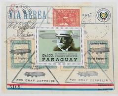 Paraguay 1988 Count Ferdinand Von Zeppelin S/S - Paraguay