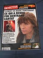 Détective 2003 1090 BERTRAND CANTAT MARIE TRINTIGNANT NOIR DESIR - Livres, BD, Revues