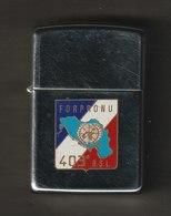 ZIPPO - FORPRONU  403e B. S. L -  Chromé  1994 - Réf, 742 - Zippo